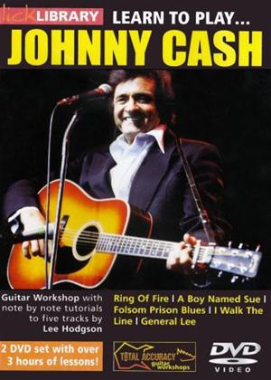 Rent Learn to Play: Johnny Cash Online DVD Rental