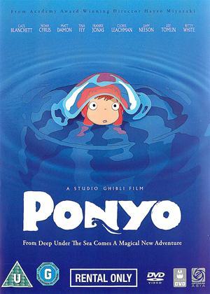Ponyo Online DVD Rental