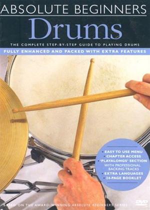 Rent Absolute Beginners: Drums Online DVD Rental