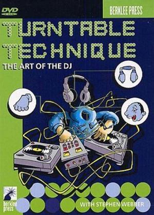Rent Stephen Webber: Turntable Technique: The Art of The DJ Online DVD Rental
