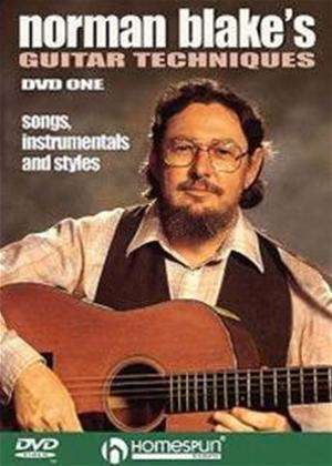 Rent Norman Blake's Guitar Techniques DVD One Online DVD Rental