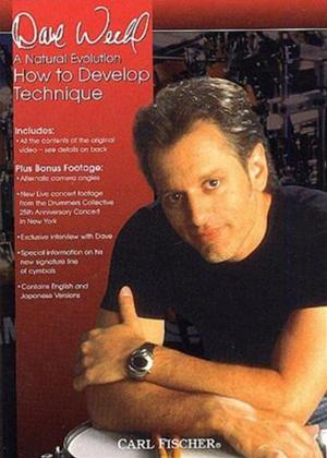 Rent Dave Weckl: How to Develop Technique Online DVD Rental