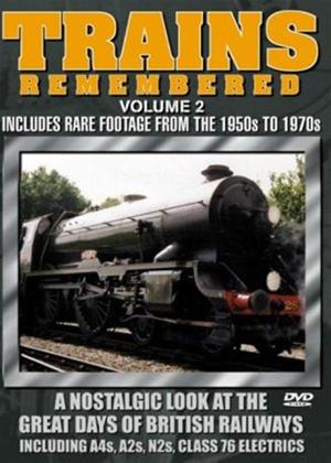 Rent Trains Remembered: Vol.2 Online DVD Rental