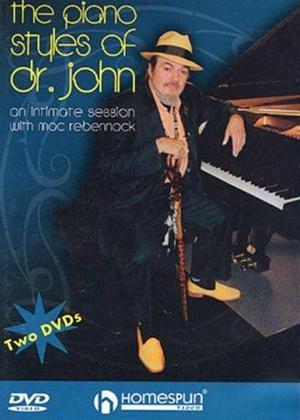 Rent Doctor John: The Piano Styles of Dr John Online DVD Rental