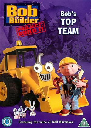 Rent Bob the Builder: Bob's Top Team Online DVD Rental