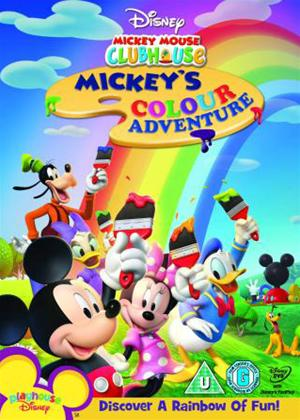 Rent Mickey Mouse Clubhouse: Mickeys Colour Adventure Online DVD Rental