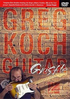 Rent Greg Koch: Guitar Gristle Online DVD Rental