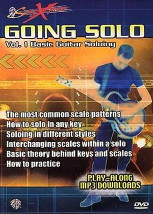 Rent SongXpress Going Solo: Basic Guitar Soloing: Vol.1 Online DVD Rental