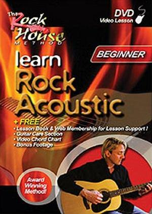 Rent Learn Rock Acoustic: Beginner Program Online DVD Rental
