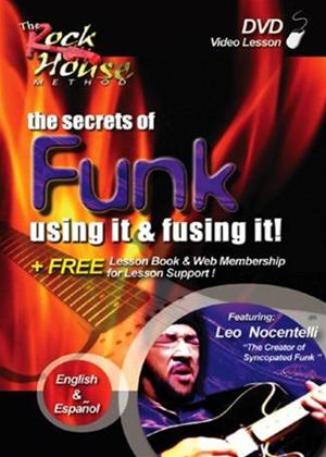 Rent The Secrets of Funk: Using It and Fusing It! Online DVD Rental