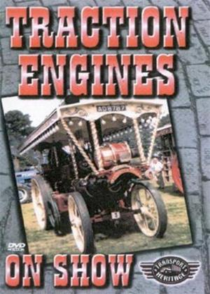 Rent Traction Engines on Show Online DVD Rental