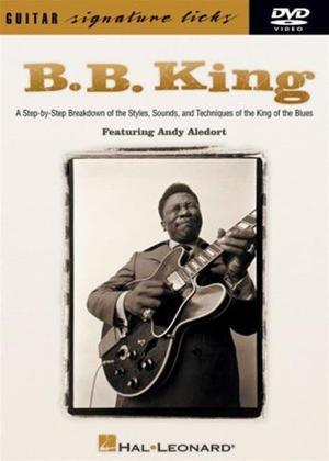 Rent B.B. King: Guitar Signature Licks Online DVD Rental
