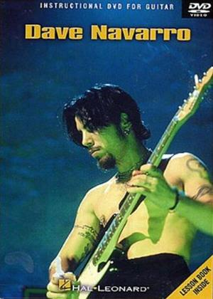 Rent Dave Navarro: Instructional DVD for Guitar Online DVD Rental