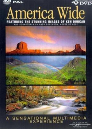 Rent America Wide: Featuring the Stunning Images of Ken Duncan Online DVD Rental