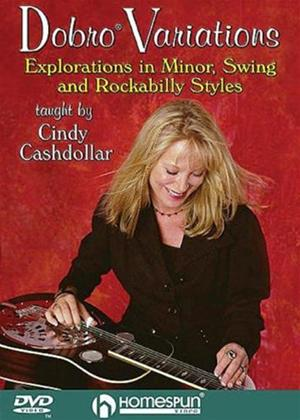 Rent Cindy Cashdollar: Dobro Variations Online DVD Rental