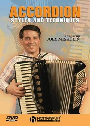 Rent Joey Miskulin: Accordion Styles and Techniques Online DVD Rental