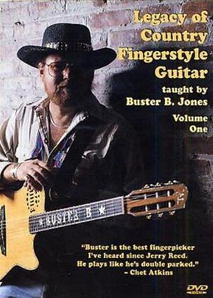 Rent Buster B. Jones: Legacy of Country Fingerstyle Guitar: Vol.1 Online DVD Rental
