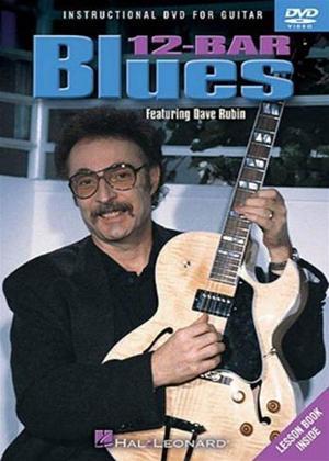 Rent Dave Rubin: 12-Bar Blues Guitar Online DVD Rental