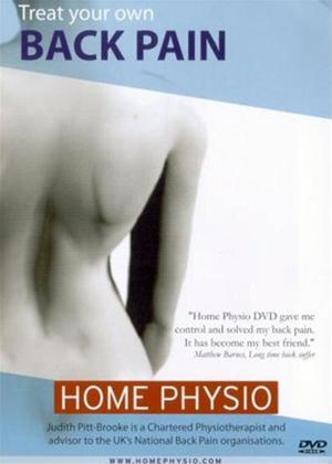 Rent Home Physio: Treat Your Own Back Pain Online DVD Rental