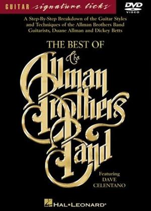 Rent The Best of the Allman Brothers Band: Guitar Signature Licks Online DVD Rental