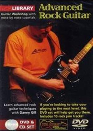 Rent Lick Library: Advanced Rock Guitar Online DVD Rental