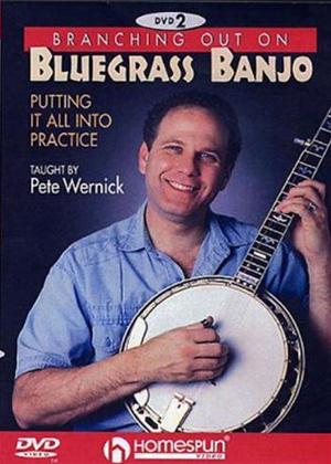 Rent Pete Wernick: Branching Out on Bluegrass Banjo 2: Putting It All Into Practise Online DVD Rental