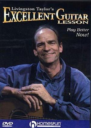 Rent Livingston Taylor's Excellent Guitar Lesson Online DVD Rental