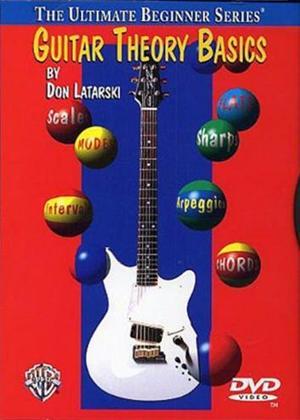 Rent Ultimate Beginner Series: Guitar Theory Basics Online DVD Rental