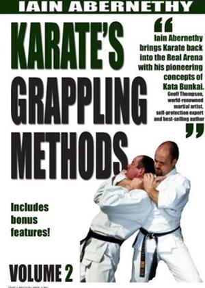 Rent Iain Abernethy's Karate's Grappling Methods: Vol.2 Online DVD Rental