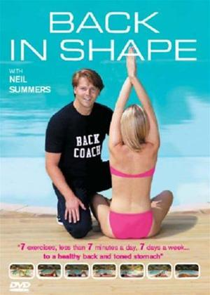 Rent Back in Shape with Neil Summers Online DVD Rental