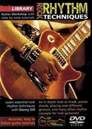 Rent Lick Library: Rock Rhythm Techniques Online DVD Rental