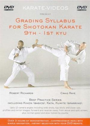 Rent Grading Syllabus for Shotakan Karate: 9th to 1st Kyu Online DVD Rental