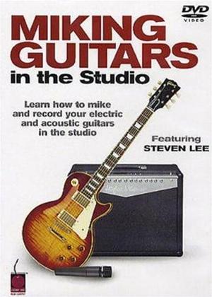 Rent Miking Guitars in the Studio Online DVD Rental