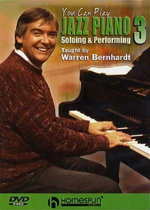 Rent You Can Play Jazz Piano 3: Soloing and Performing Online DVD Rental