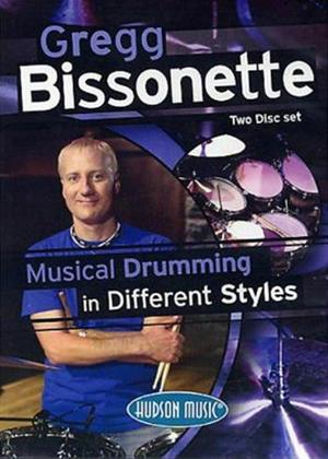 Rent Gregg Bissonette: Musical Drumming in Different Styles Online DVD Rental