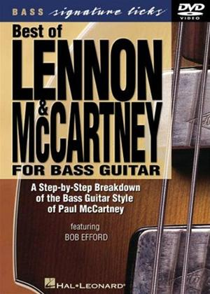 Rent The Best of Lennon and McCartney for Bass Guitar Online DVD Rental
