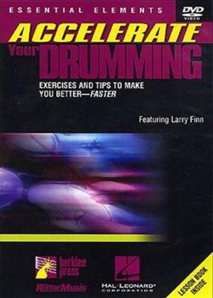 Rent Accelerate Your Drumming Online DVD Rental