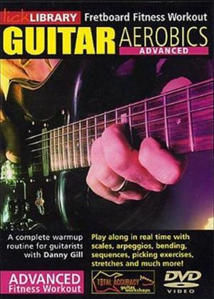 Rent Guitar Aerobics Advanced Online DVD Rental