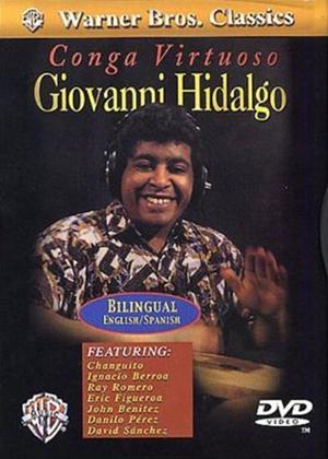 Rent Giovanni Hidalgo: Conga Virtuoso Online DVD Rental