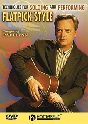 Rent Pat Flynn: Techniques for Soloing and Improvising Flatpick style Online DVD Rental