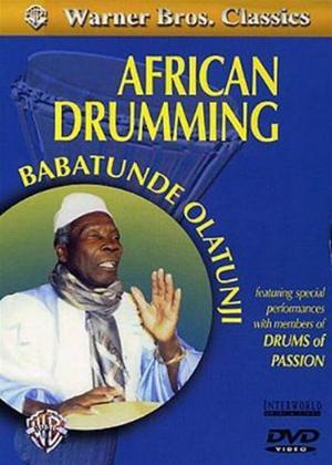Rent Babatunde Olatunji: African Drumming Online DVD Rental