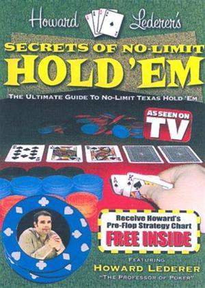 Rent Howard Lederer: Secrets of No Limit Hold Em Poker Online DVD Rental
