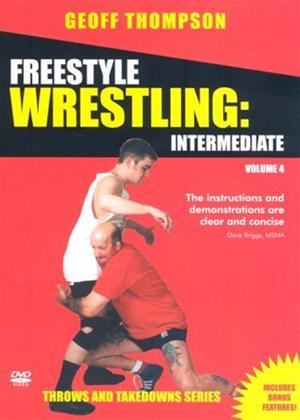 Rent Throws and Takedowns: Freestyle Wrestling Intermediate Online DVD Rental