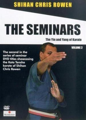 Rent Chris Rowen the Goju-Ryu Karate Seminars: Vol.2 Online DVD Rental