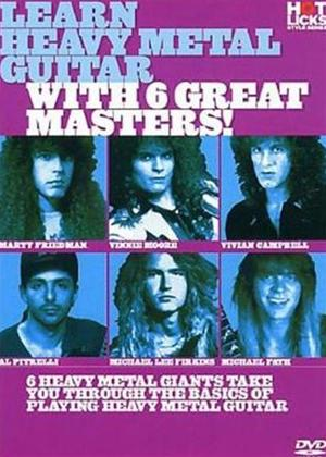 Rent Hot Licks: Learn Heavy Metal Guitar with 6 Great Masters Online DVD Rental
