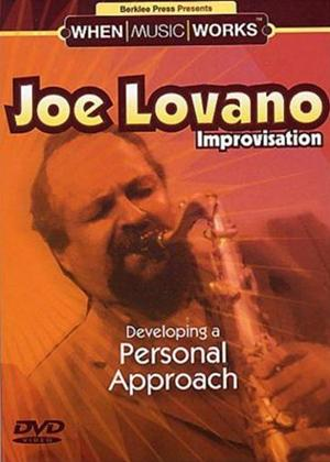 Rent Joe Lovano Improvisation Online DVD Rental