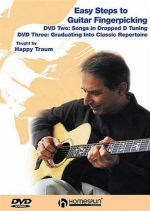 Rent Easy Steps to Guitar Fingerpicking: Steps 2 and 3 Online DVD Rental