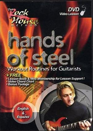 Rent Hands of Steel: Workout Routines for Guitarists Online DVD Rental