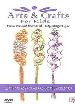 Rent Arts and Crafts for Kids: Key Stage 1 and 2 Online DVD Rental