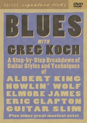 Rent Greg Koch Blues Guitar: Signature Licks Online DVD Rental